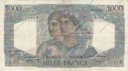 1000 Francs MINERVE ET HERCULE FRANCE  1948 F.41.20 TTB