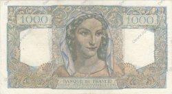 1000 Francs MINERVE ET HERCULE FRANCE  1948 F.41.22 TTB