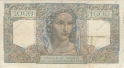 1000 Francs MINERVE ET HERCULE FRANCE  1948 F.41.23 TB à TTB