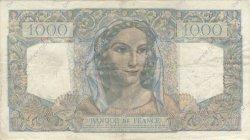 1000 Francs MINERVE ET HERCULE FRANCE  1949 F.41.27 TB+