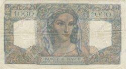 1000 Francs MINERVE ET HERCULE FRANCE  1949 F.41.28 TB+