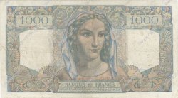 1000 Francs MINERVE ET HERCULE FRANCE  1950 F.41.31 B à TB