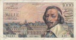 1000 Francs RICHELIEU FRANCE  1954 F.42.04 TTB