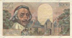 1000 Francs RICHELIEU FRANCE  1954 F.42.06 TTB