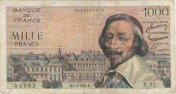 1000 Francs RICHELIEU FRANCE  1954 F.42.06 TB