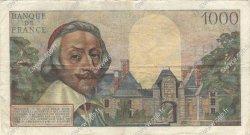 1000 Francs RICHELIEU FRANCE  1955 F.42.10 TB+