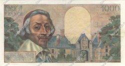 1000 Francs RICHELIEU FRANCE  1955 F.42.11 pr.SUP