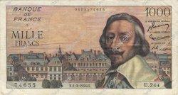 1000 Francs RICHELIEU FRANCE  1956 F.42.19 TB+