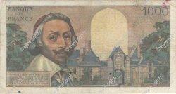 1000 Francs RICHELIEU FRANCE  1956 F.42.22 B