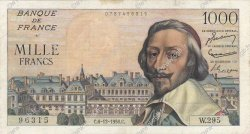 1000 Francs RICHELIEU FRANCE  1956 F.42.24 TB+