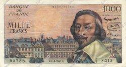 1000 Francs RICHELIEU FRANCE  1957 F.42.25 SUP