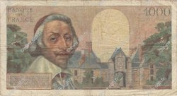 1000 Francs RICHELIEU FRANCE  1957 F.42.25 B+