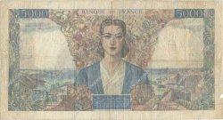 5000 Francs EMPIRE FRANÇAIS FRANCE  1945 F.47.09 TB