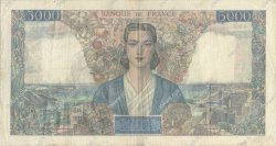 5000 Francs EMPIRE FRANÇAIS FRANCE  1945 F.47.41 TB à TTB
