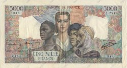 5000 Francs EMPIRE FRANÇAIS FRANCE  1945 F.47.48