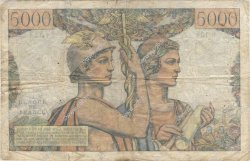 5000 Francs TERRE ET MER FRANCE  1952 F.48.07 B