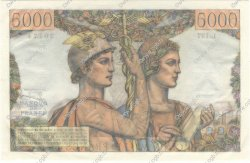 5000 Francs TERRE ET MER FRANCE  1953 F.48.09