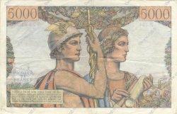 5000 Francs TERRE ET MER FRANCE  1956 F.48.12 TTB+