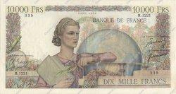 10000 Francs GÉNIE FRANÇAIS FRANCE  1951 F.50.48 TB à TTB