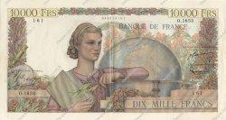10000 Francs GÉNIE FRANÇAIS FRANCE  1951 F.50.53 SUP