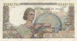 10000 Francs GÉNIE FRANÇAIS FRANCE  1952 F.50.56 TTB
