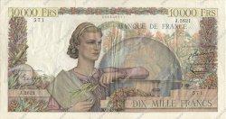 10000 Francs GÉNIE FRANÇAIS FRANCE  1952 F.50.57 TB