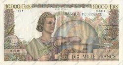 10000 Francs GÉNIE FRANÇAIS FRANCE  1955 F.50.73 TTB+ à SUP