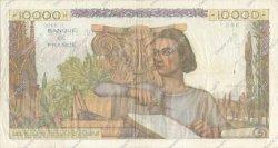 10000 Francs GÉNIE FRANÇAIS FRANCE  1955 F.50.75 TB à TTB