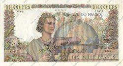 10000 Francs GÉNIE FRANÇAIS FRANCE  1955 F.50.76 SUP+