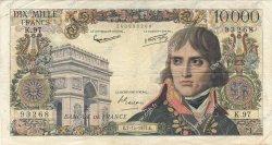 10000 Francs BONAPARTE FRANCE  1957 F.51.10 TB