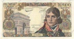 10000 Francs BONAPARTE FRANCE  1958 F.51.12 TTB+