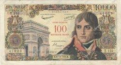 100 NF sur 10000 Francs BONAPARTE FRANCE  1958 F.55.01 B+