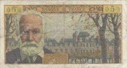 5 Nouveaux Francs VICTOR HUGO FRANCE  1959 F.56.04 B