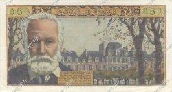 5 Nouveaux Francs VICTOR HUGO FRANCE  1960 F.56.05 TTB à SUP