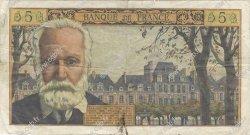 5 Nouveaux Francs VICTOR HUGO FRANCE  1961 F.56.06 TB+