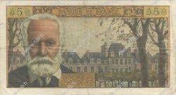 5 Nouveaux Francs VICTOR HUGO FRANCE  1961 F.56.09 TB
