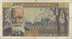 5 Nouveaux Francs VICTOR HUGO FRANCE  1962 F.56.12 B+