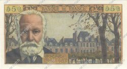 5 Nouveaux Francs VICTOR HUGO FRANCE  1962 F.56.12 SUP à SPL