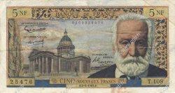 5 Nouveaux Francs VICTOR HUGO FRANCE  1963 F.56.14 TB+