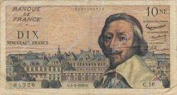10 Nouveaux Francs RICHELIEU FRANCE  1959 F.57.01 TB
