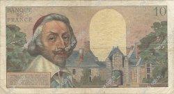 10 Nouveaux Francs RICHELIEU FRANCE  1959 F.57.03 B à TB