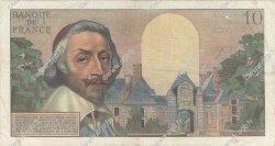 10 Nouveaux Francs RICHELIEU FRANCE  1959 F.57.03 TB