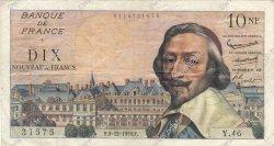 10 Nouveaux Francs RICHELIEU FRANCE  1959 F.57.04 TTB