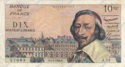 10 Nouveaux Francs RICHELIEU FRANCE  1960 F.57.05 TB