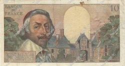 10 Nouveaux Francs RICHELIEU FRANCE  1960 F.57.11 pr.TTB
