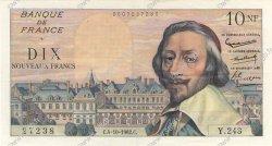 10 Nouveaux Francs RICHELIEU FRANCE  1962 F.57.21 SUP+