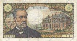 5 Francs PASTEUR FRANCE  1966 F.61.01 pr.TTB