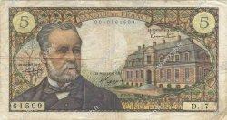 5 Francs PASTEUR FRANCE  1966 F.61.02 B+