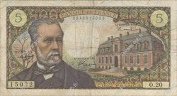 5 Francs PASTEUR FRANCE  1966 F.61.02 B