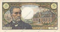 5 Francs PASTEUR FRANCE  1966 F.61.03 pr.SPL